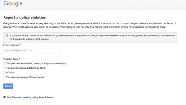 how to remove fake reviews from google nz the investigators